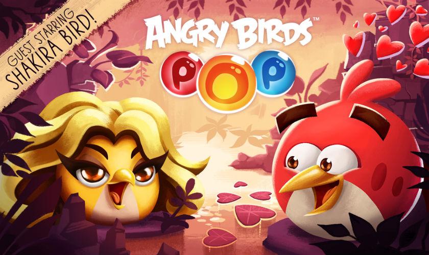 Shakira tiene su personaje en el juego Angry Bird