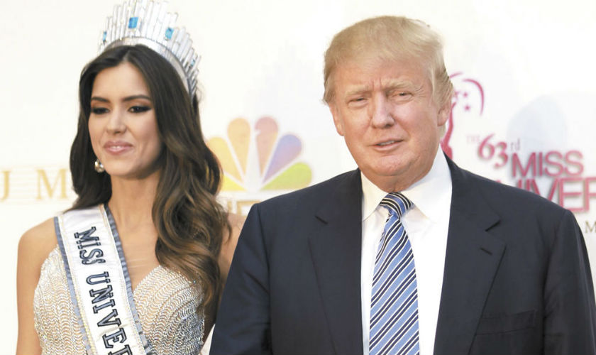 Donald Trump dueño absoluto de Miss Universo