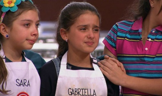 Gabriella Senior es eliminada de MasterChef Junior Colombia