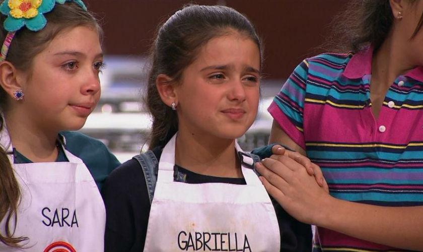 Gabriella Senior eliminada de MasterChef Junior Colombia