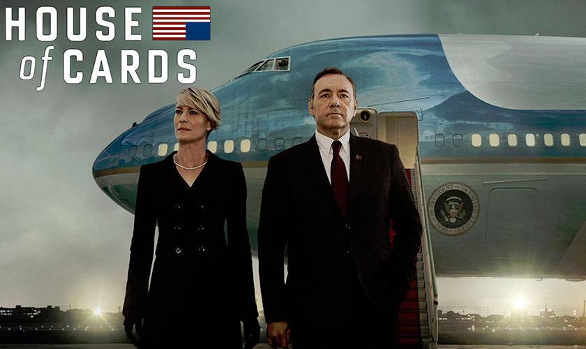 Netflix confirma quinta temporada de House of Cards