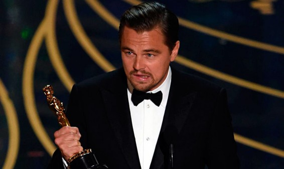 Finalmente Leonardo DiCaprio logró alzarse con un premio Oscar