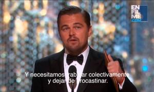 Subtitulado: Discurso de Leonardo DiCaprio Premios Oscar's
