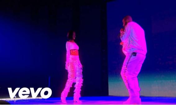 Así fue la presentación de Rihanna y Drake en Los Brit Awards 2016