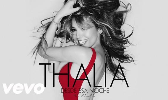 Thalía y Maluma se unen para grabar una nueva canción