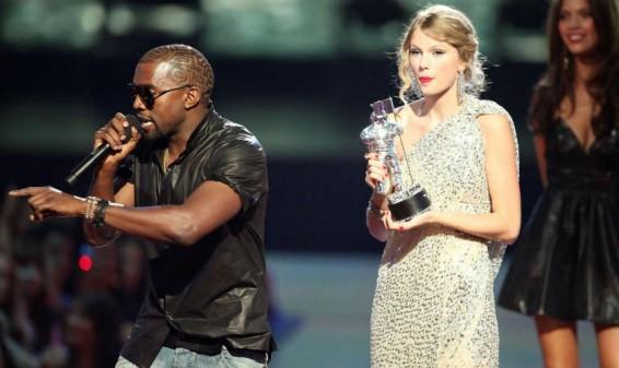 Los cantantes Kanye West y Taylor Swift nuevamente enfrentados