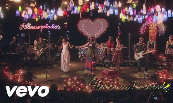 Aterciopelados graba nueva versión de su canción Florecita Rockera