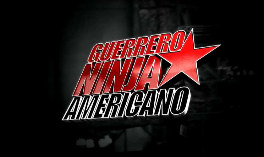 Guerrero Ninja Americano del Canal RCN