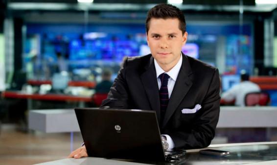 Luis Carlos Vélez será co-presentador de noticias en Telemundo