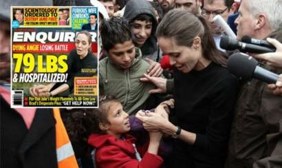 Angelina Jolie hospitalizada de urgencia