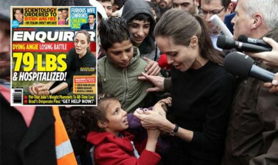 La actriz Angelina Jolie habría sido hospitalizada de urgencia