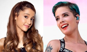 Ariana Grande y Halsey en los MTV Movie Awards 2016