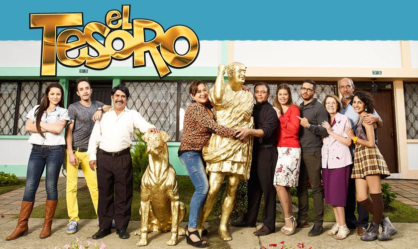El Tesoro, comedia del Canal Caracol fecha de estreno