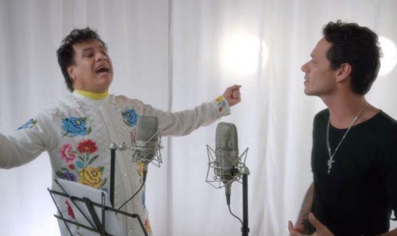 Juan Gabriel estrena junto a Marc Anthony el video de 'Yo te recuerdo'