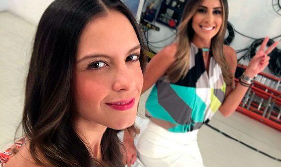 Laura Acuña se retira de la presentación de Noticias RCN