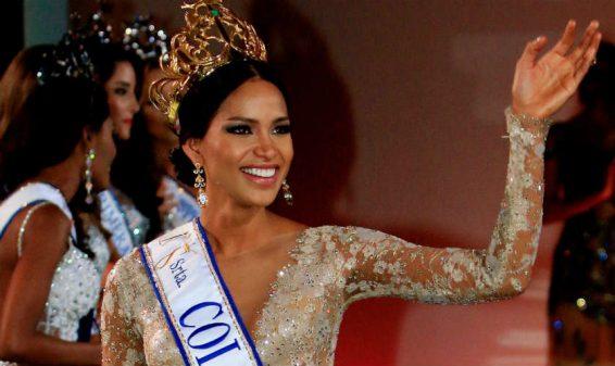 Señorita Colombia Andrea Tovar amenazó con renunciar al cargo