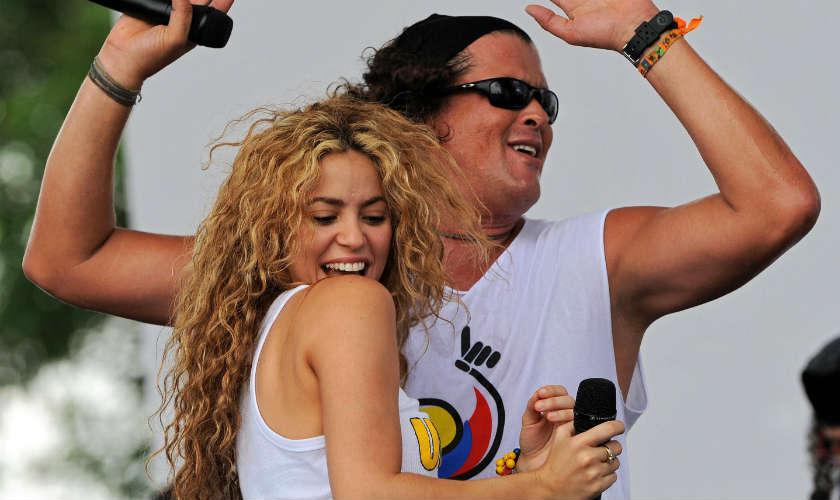Shakira y Carlos Vives grabaron juntos La bicicleta