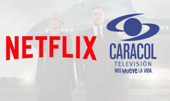 Netflix y Caracol TV anuncian acuerdo de licenciamiento de contenido