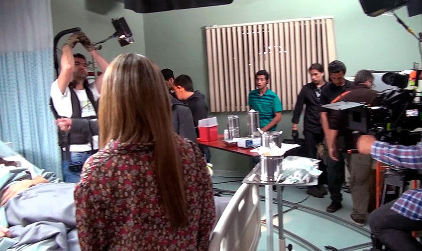 Video: Grabaciones segunda temporada Sala de urgencias
