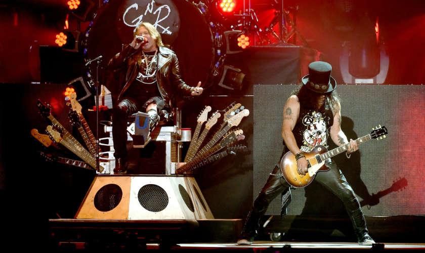 Guns N' Roses confirma fechas de su gira por Sudamérica