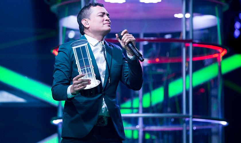 Jhon Onofre es el ganador de 'A Otro Nivel' del Canal Caracol