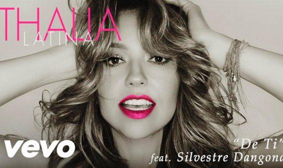 Thalía presenta su canción 'De ti' junto a Silvestre Dangond
