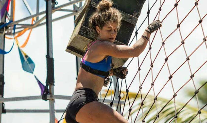 Karmen eliminada del Desafío Súper Humanos por Valentina