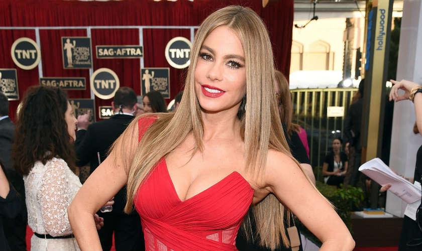 Sofía Vergara listada en celebridades mejor pagadas