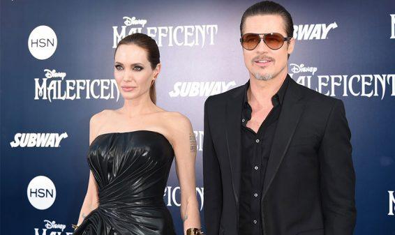 Se acaba matrimonio de Angelina y Brad Pitt, ella le pide el divorcio