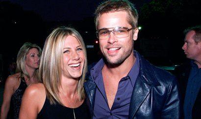 Brad Pitt y Jennifer Aniston juntos antes del divorcio - Entretengo