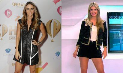 Laura Tobón y Karen Matínez presentadoras de La Voz Teens