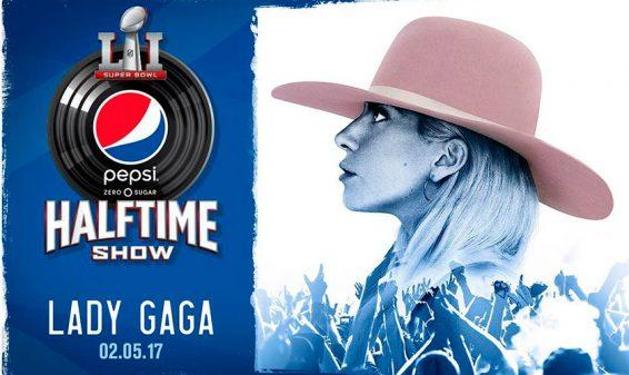 Lady Gaga cantará en el entretiempo del Super Bowl 2017