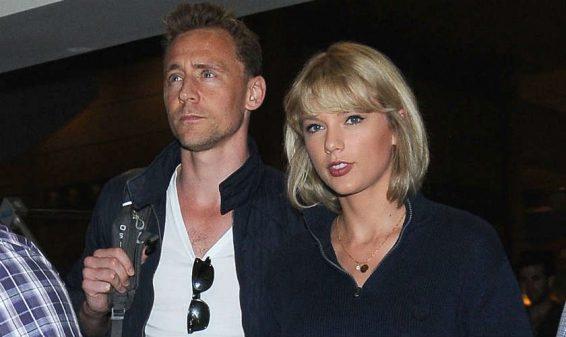 Solo tres meses duró el noviazgo entre Taylor Swift y Tom Hiddleston