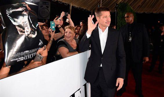 Brad Pitt reaparece en público luego de su divorcio con Angelina Jolie