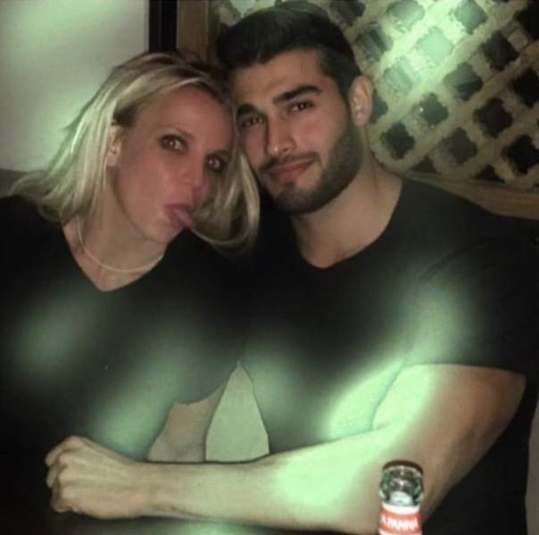 Britney Spears & Sam Asghari