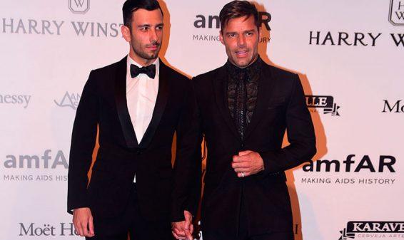 Ricky Martin se compromete con su novio Jwan Yosef