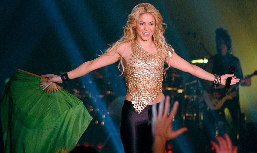 Shakira regresa a Los 40 Music Awards - Entretengo