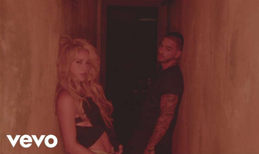 Shakira y Maluma presentan el video de la canción Chantaje