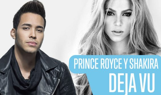 Escucha 'Deja Vu', nuevo disco de Prince Royce y Shakira