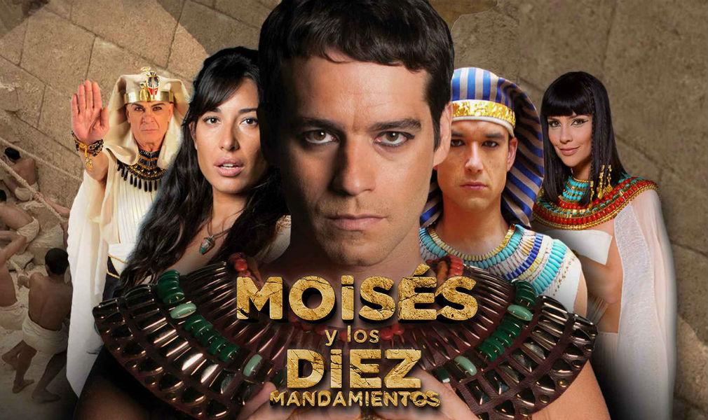 Moisés y los Diez Mandamientos se emitirá en Colombia - Entretengo