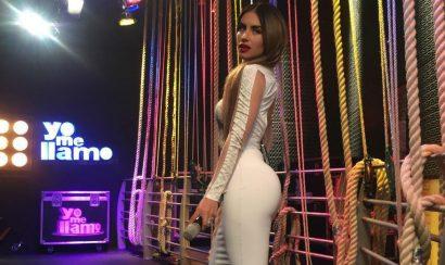 Mira la reaccion de Jessica Cediel al ver bailar bachata a Pipe Bueno y Amparo Grisales - Entretengo