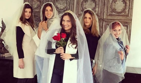 Presentadora Jessica de la Peña se casó en Cartagena
