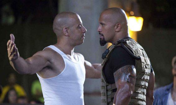 Hay rivalidad entre Vin Diesel y Dwayne Johnson  en Rápido Y Furioso 8