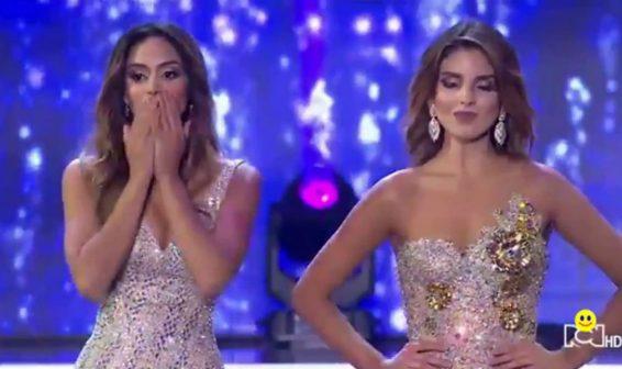 Señorita Bogota está inconforme con el resultado del Concurso Nacional de Belleza