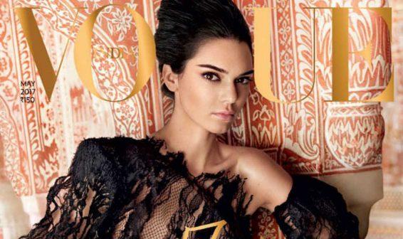 Kendall Jenner luce espectacular en nueva portada de la revista Vogue