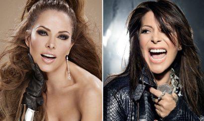 Gloria Trevi y Alejandra Guzmán se besan en concierto - Entretengo