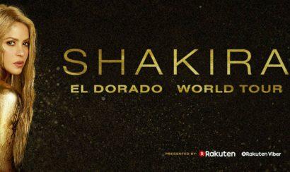 Shakira anuncia su gira El Dorado World Tour - Entretengo