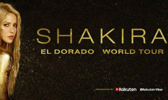 Shakira anuncia su gira El Dorado World Tour y llegará a Colombia