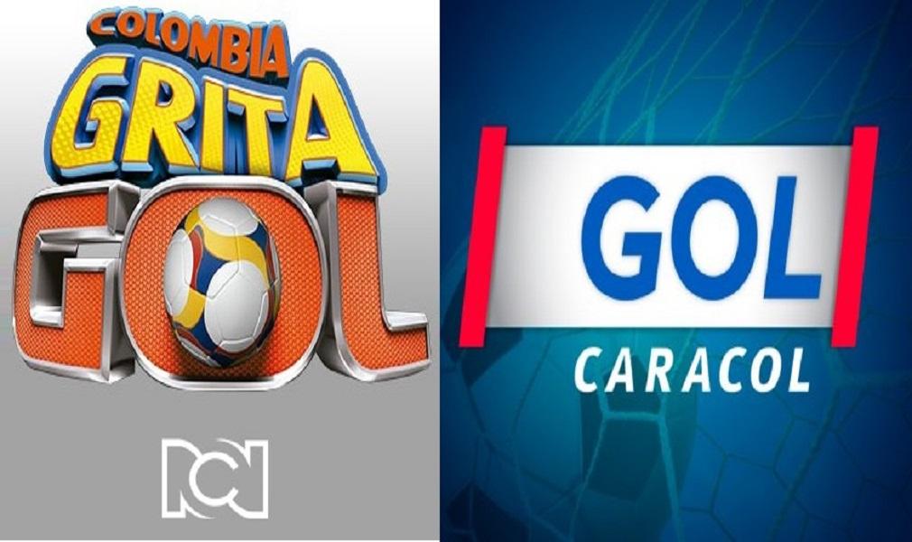 Así va la cantienda entre Gol Caracol y Colombia grita gol - Entretengo