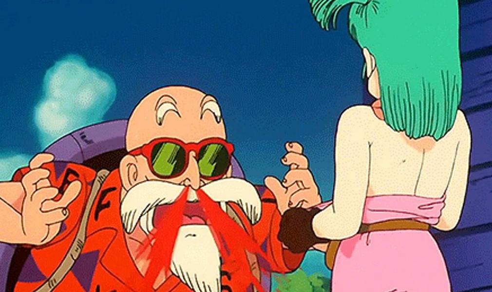 Denuncian al maestro Roshi de la serie Dragon Ball Z